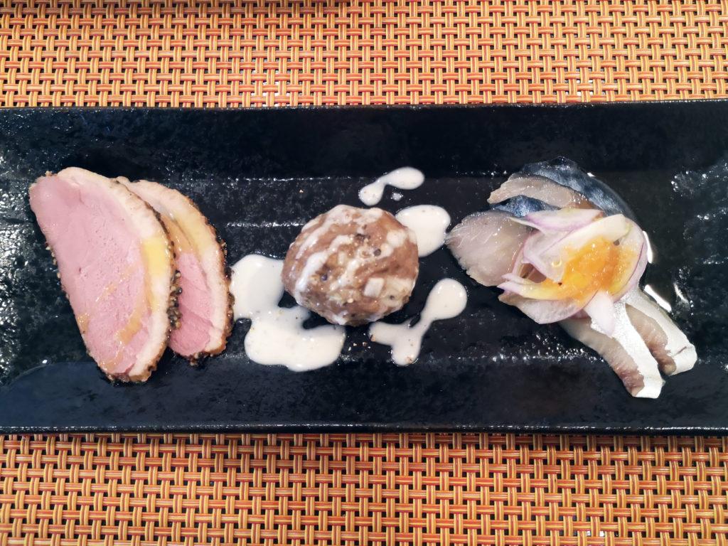 『キッチン ラ カーサ』前菜3種画像