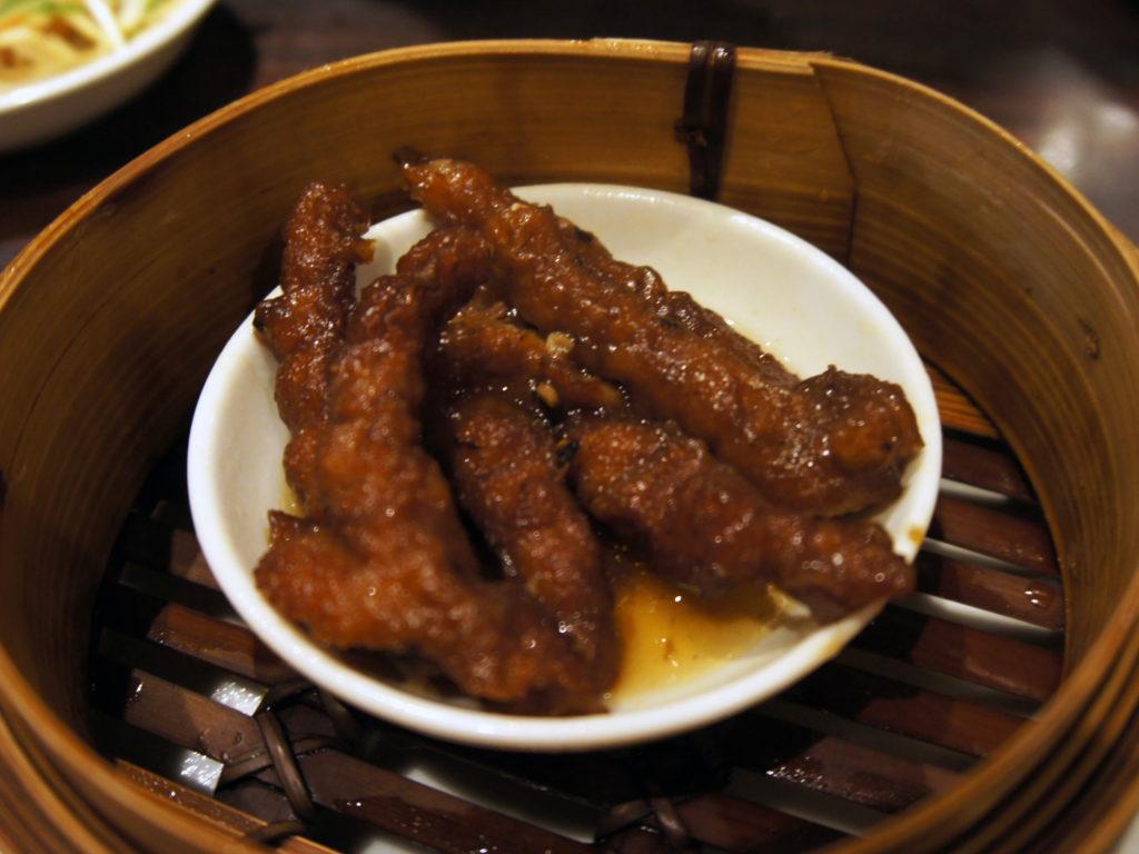 『招福門』鶏足画像