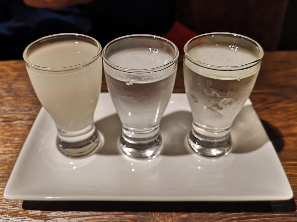 『離島のテーブル』利き酒3種セット
