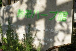 箱根『強羅公園』熱帯ハーブ館