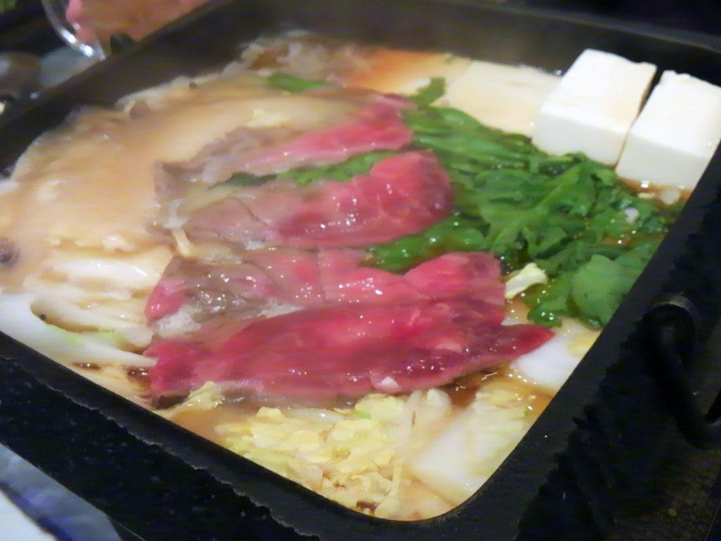 新橋『馬喰ろう』桜鍋