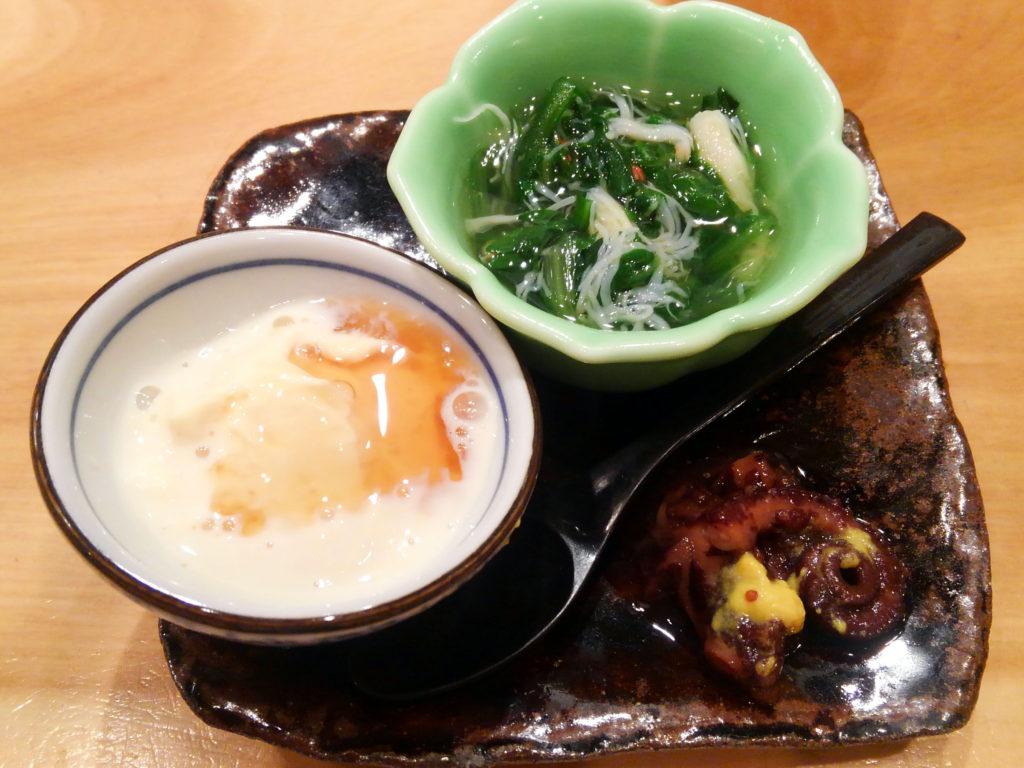 新橋『おでん かま田』前菜