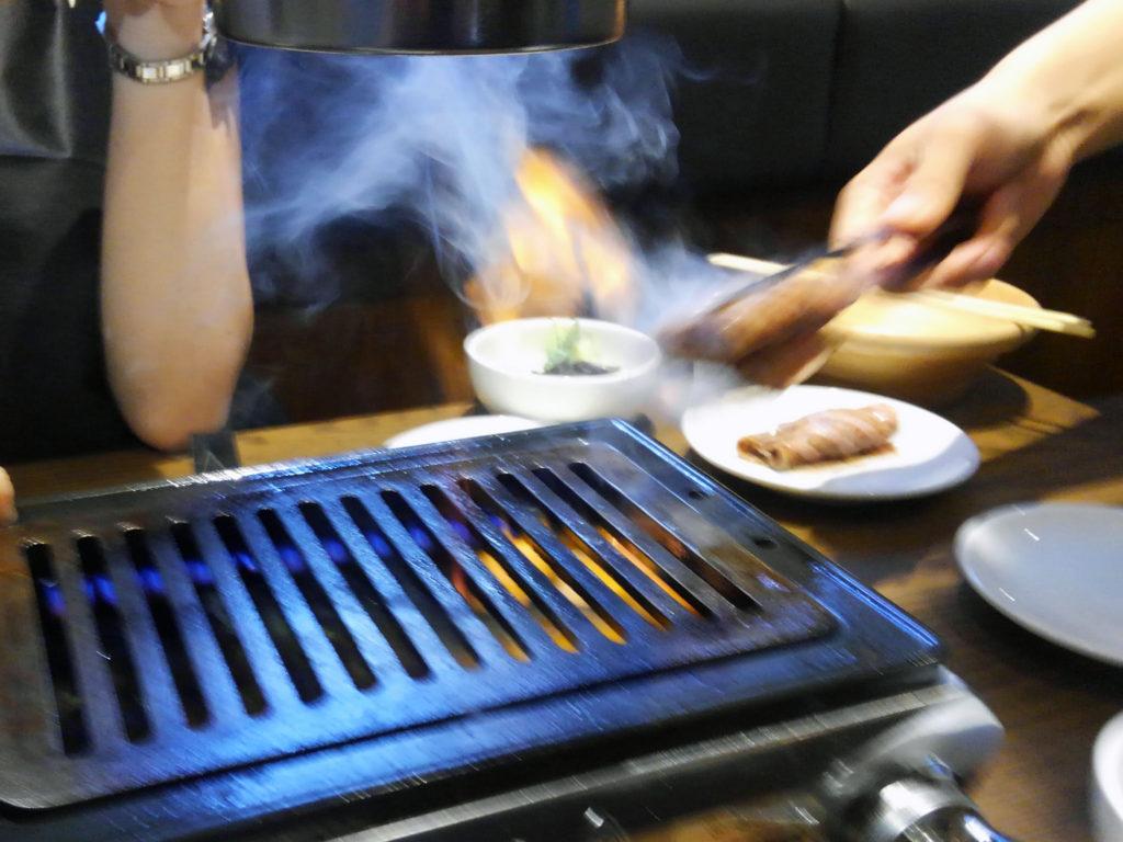 焼肉×バル『マルウシミート Z 西新橋店』うにロール