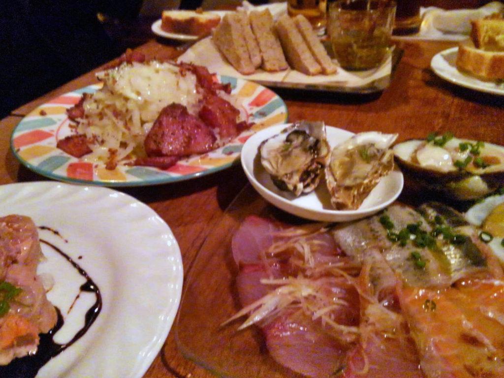 『イタリアンバル UOKIN 新橋店』料理