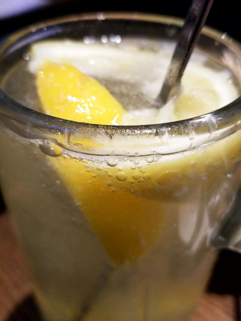 焼肉×バル『マルウシミート Z 西新橋店』冷凍レモンサワー