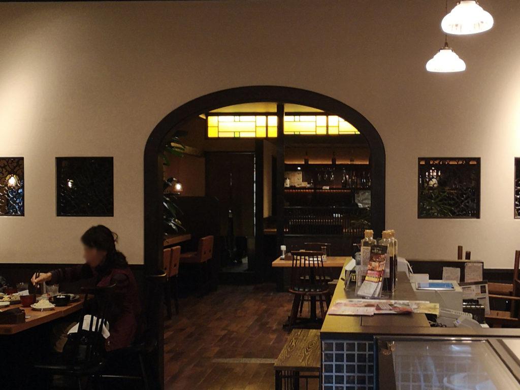 奈良『大和カフェ』店内