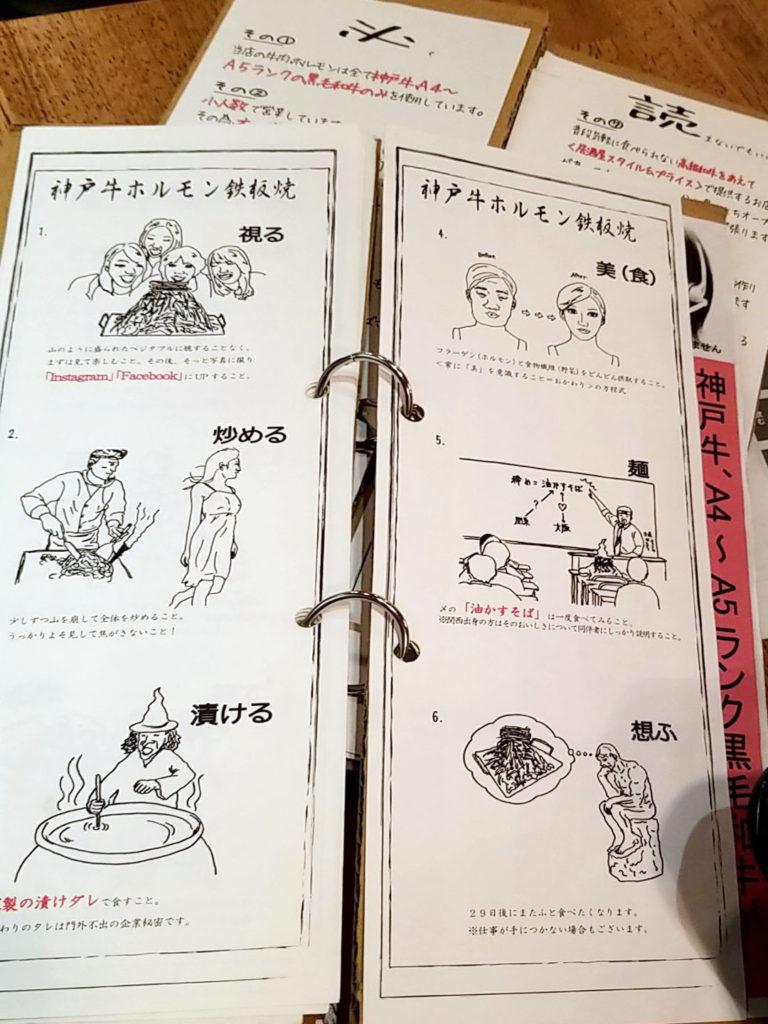 『コンロ家 神田店』メニュー