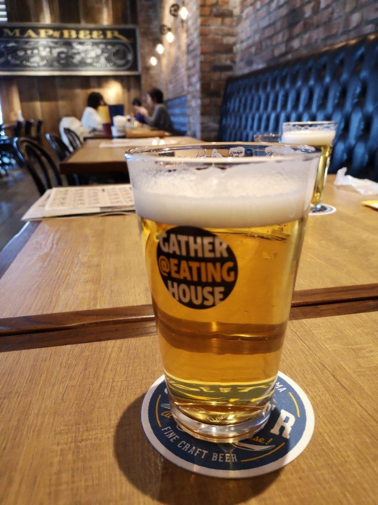 『ギャザーアットイーティングハウス』ビール