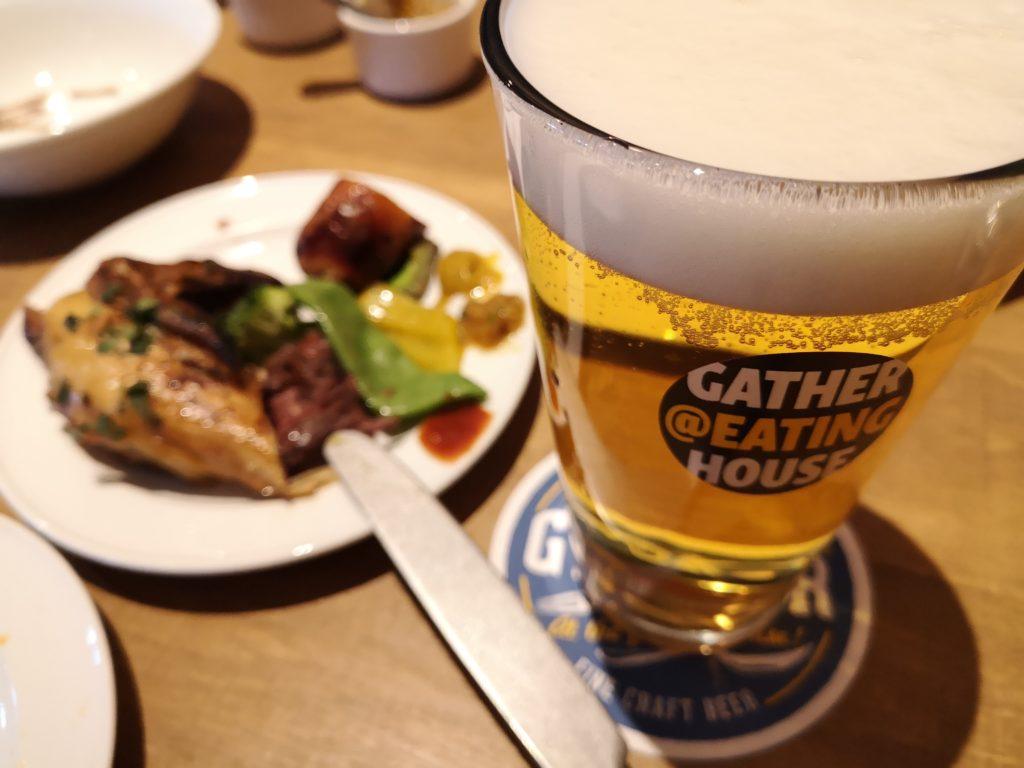 『ギャザーアットイーティングハウス』ビールが美味しい!